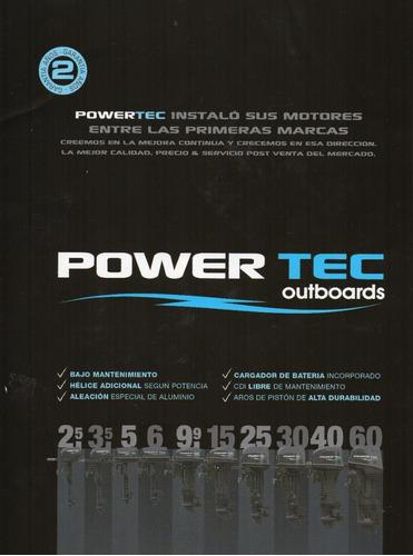 motor powertec 3.5 hp 2 tiempos 0 km.
