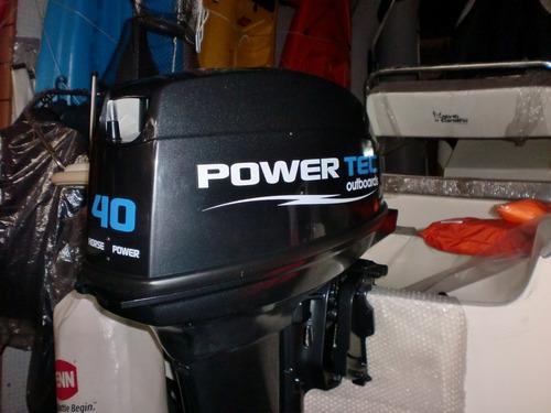 motor powertec 40 hp 2 tiempos - quilmes