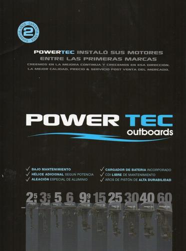 motor powertec 70 hp 2 tiempos - quilmes