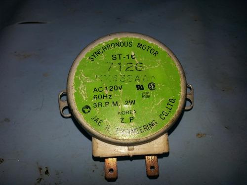 motor  prato  microondas  eixo  ferro
