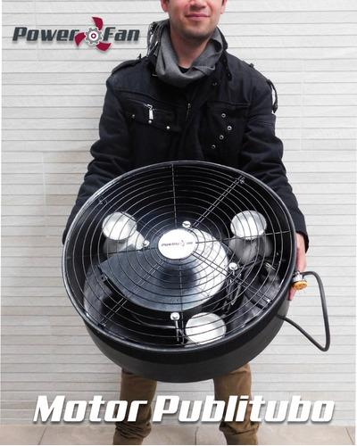 motor publitubo power fan 22  tótem publicitario 100 watts