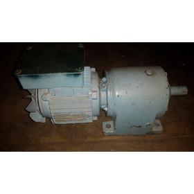 Motor Reductor Trifasico En Muy Buen Estado 200 Verdes