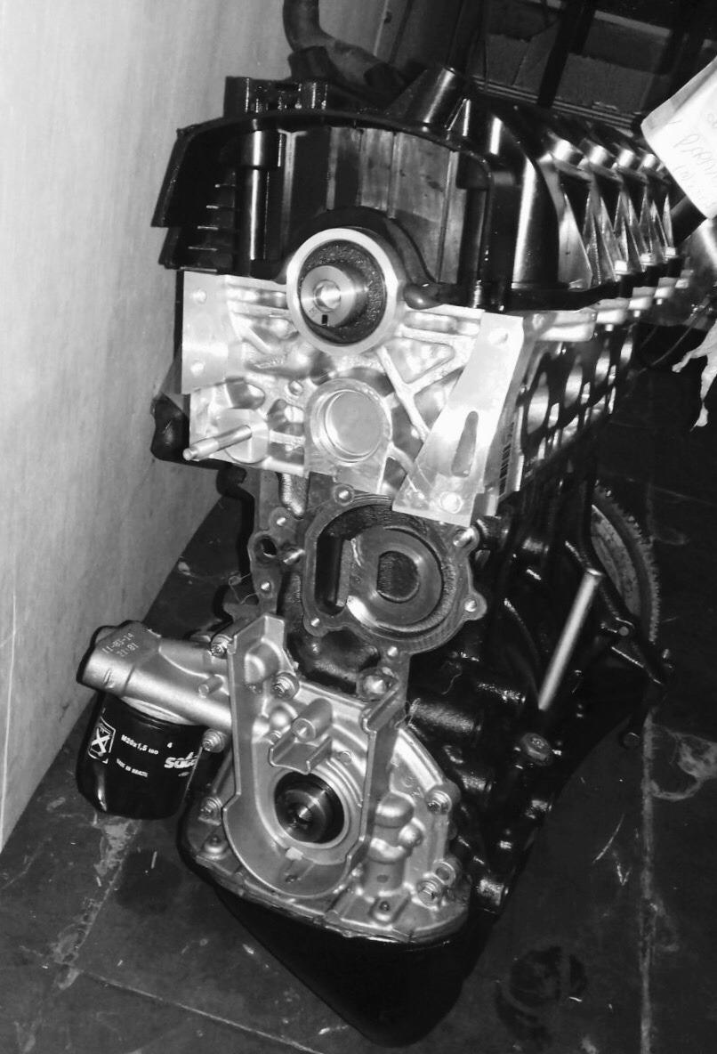 Motor Renault Clio   Logan   Sandero 1 0 16v Flex Novo Zero