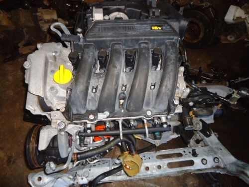 motor renault clio scenic 1 6 16v 2003 gasolina revisado r em mercado livre. Black Bedroom Furniture Sets. Home Design Ideas