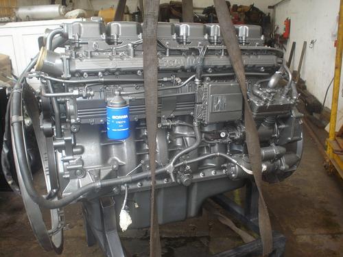 motor scania 124 completo sem troca