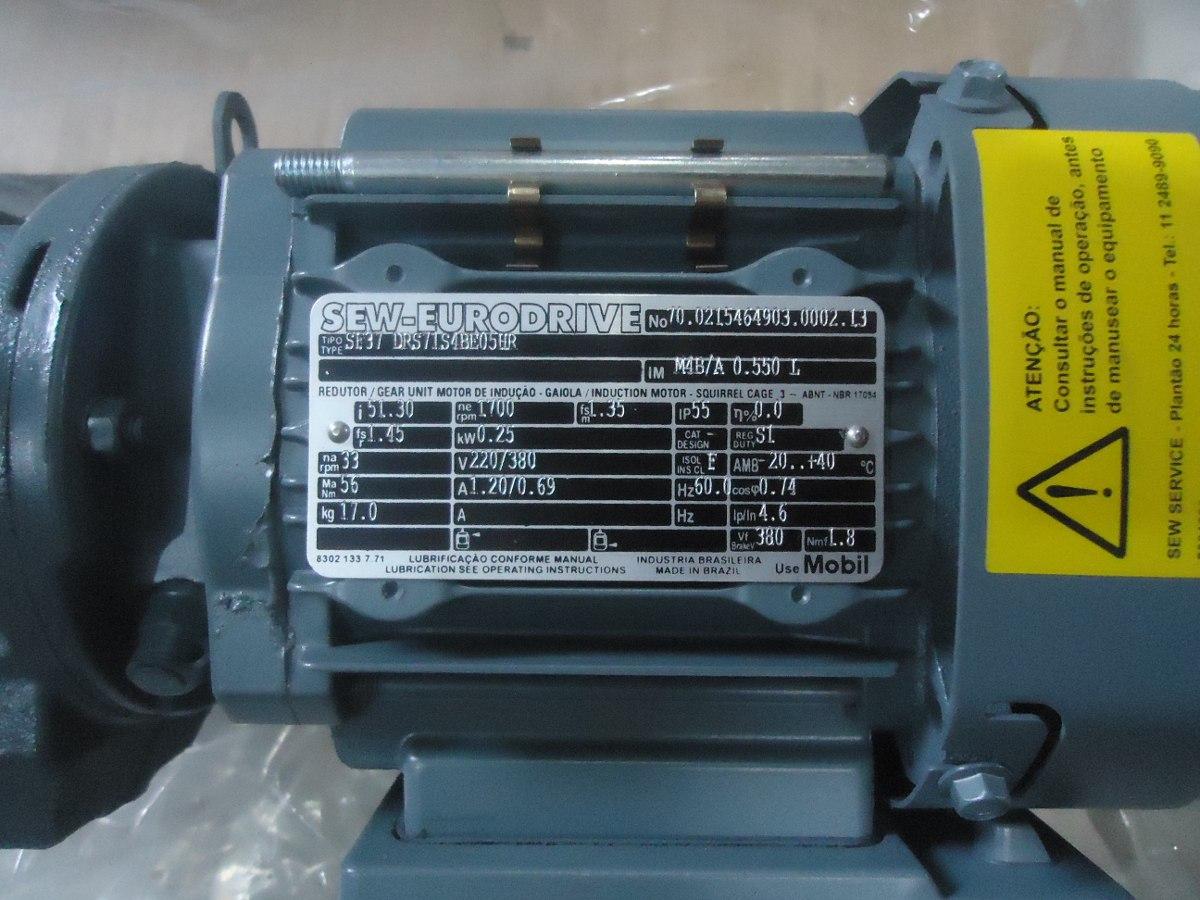 motor sew eurodrive drs71s4be05hr