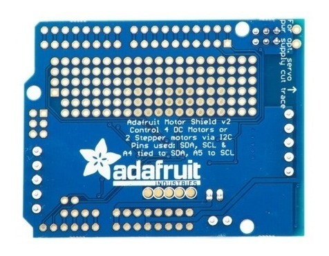 Motor Shield Adafruit V2 Para Arduino - Pronta Entrega!