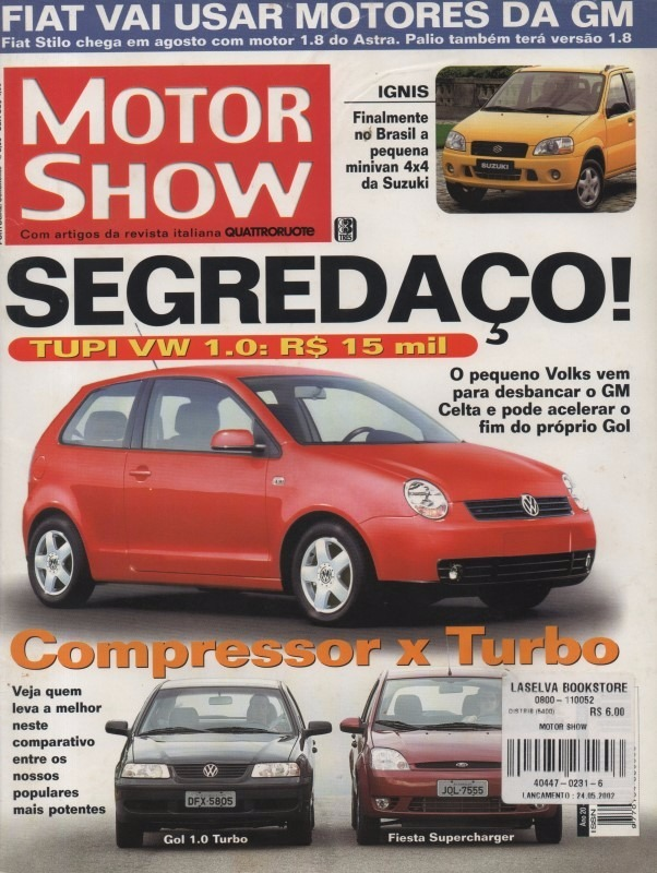 Motor show n231 gol 10 turbo fiesta supercharger caravan r 14 motor show n231 gol 10 turbo fiesta supercharger caravan r 1461 em mercado livre fandeluxe Choice Image