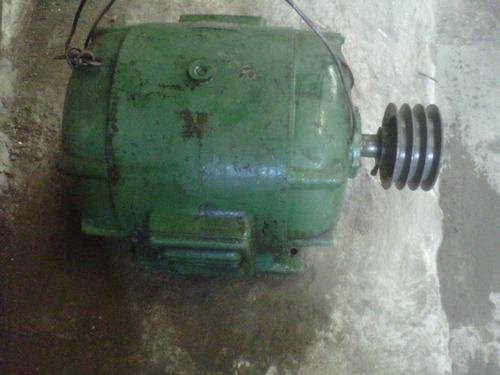 motor siam 20 hp trifasico 380 - 660,  980 vueltas !!!