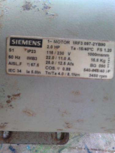 motor siemens 2hp
