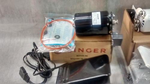 motor singer maquina costura domestica. 110 volts, branco.