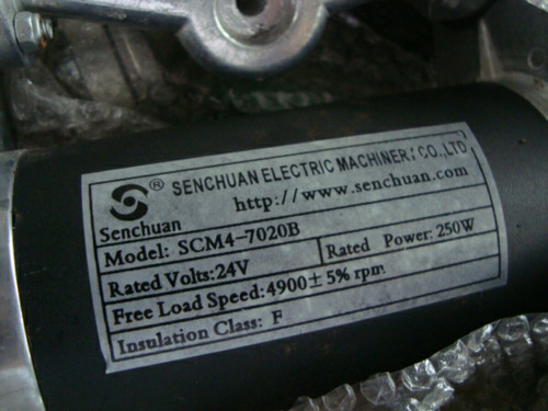motor skate elétrico 250w 24v