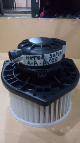 motor soplador aire condicionado aveo