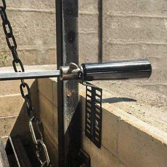 motor spiedo  15 kg espada,tenedores y soportes kincho
