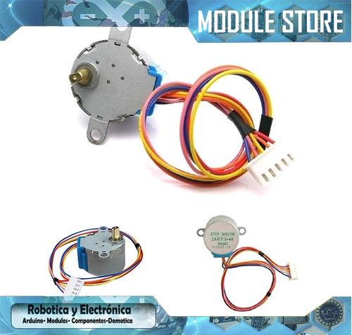 motor stepper paso a paso 5v 4 polos arduino pic 5v 28ybj-48