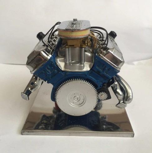 motor stirling aleación simulación ford fiesta 427- a pedido