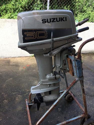 motor suzuki 30hp fuera de borda pata corta 900