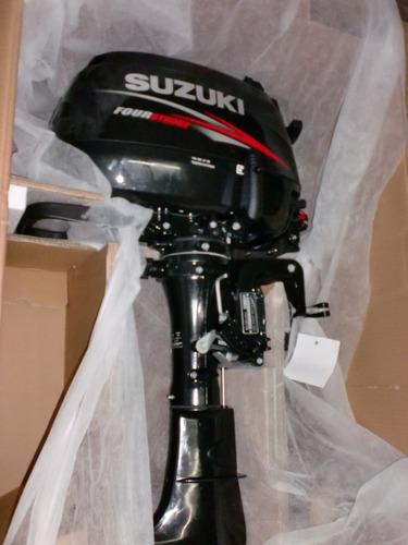 motor suzuki 6 hp 4 tiempos 0 km el pago es en pesos!quilmes