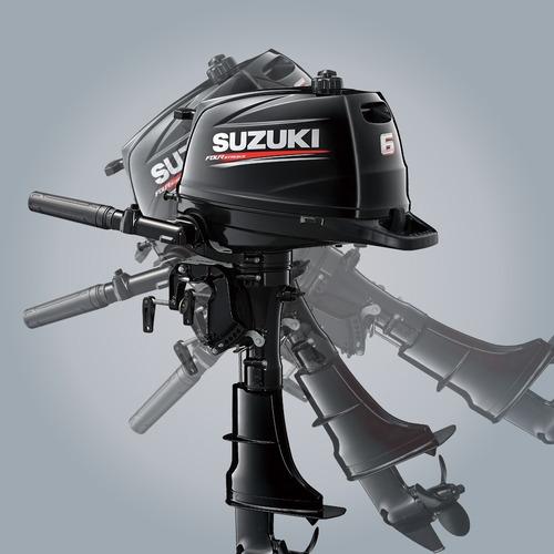 motor suzuki 6 hp 4t  0 hs distribuidor nautica del plata