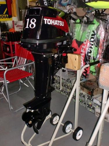 motor tohatsu 18 hp 2 t 0 km. quilmes!!!