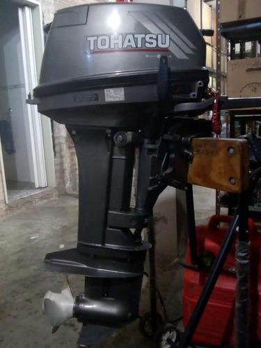 motor tohatsu 18 hp año 2002 poco uso con carrito y factura