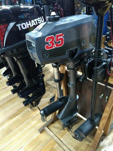 motor tohatsu 3.5 hp 2t pata corta usado año 1999
