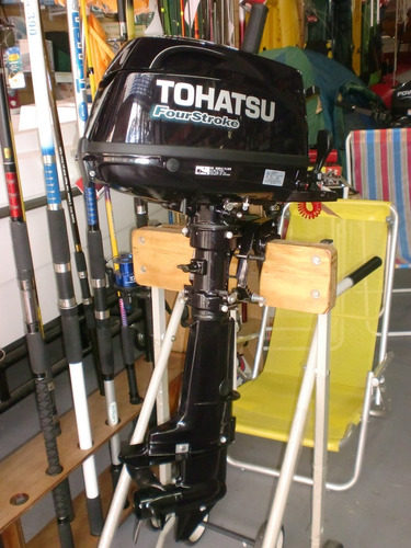 motor tohatsu 5 hp 4 tiempos 0 km. pago en pesossss!!quilmes