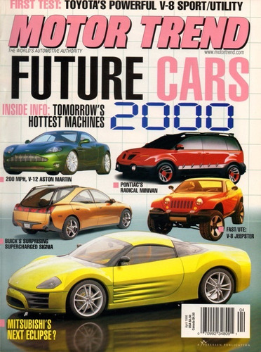 motor trend abr/1998 toyota sport utility v8 future cars