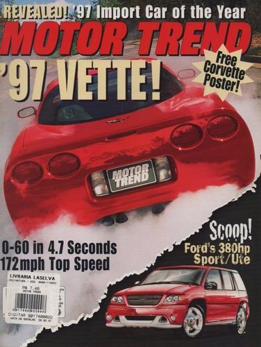motor trend fev/1997 chevrolet corvette