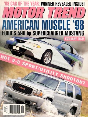 motor trend jan/1998 ford mustang gmc sport utility v8