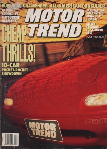 motor trend jul/1991 acura legend mitsubishi diamante mazda