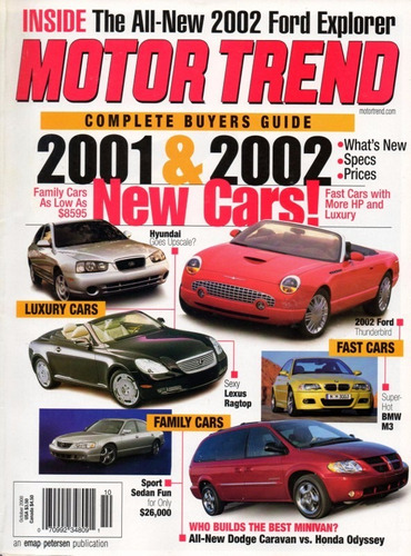 motor trend out/2000 complete buyer's guide 2001 2002