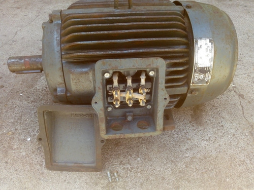 motor trifásico asíncrónico de 15 cv marca acec rpm 2925