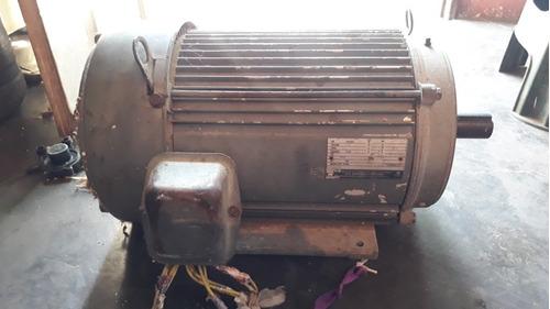 motor trifasico de 10hp 1745rpm