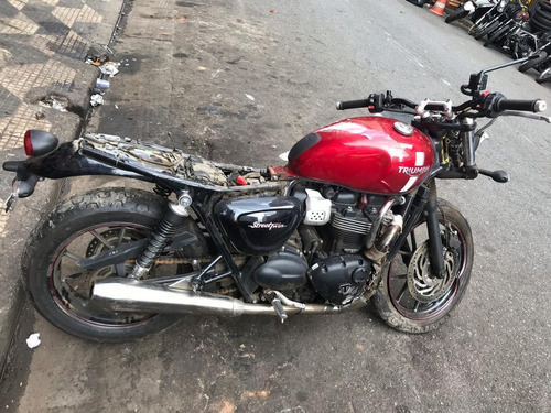 motor triumph street twin 900cc sucata p/retirada peças