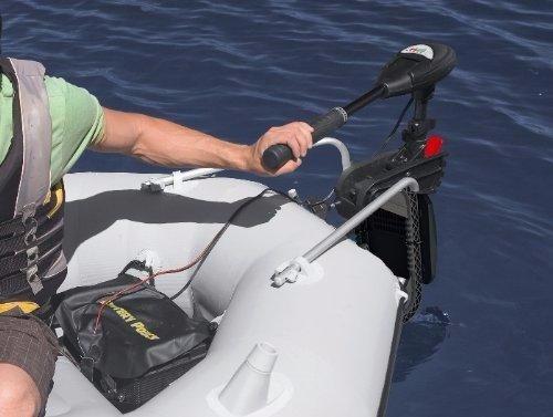 motor troleador para lancha inflable 12v empuje 40lb intex