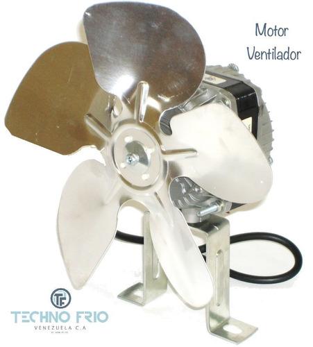motor ventilador 10w 110v 1550 rpm + aspa + base