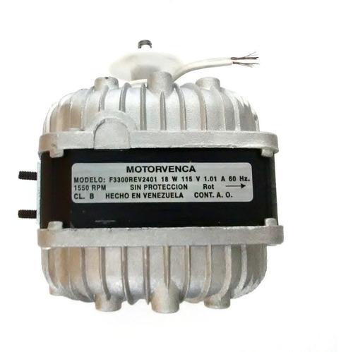motor ventilador 18w 1e 115v 1550rpm. cnr-3935