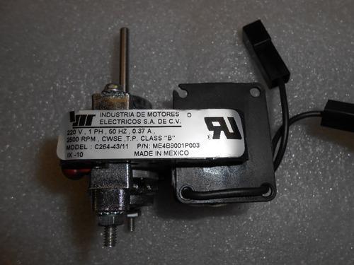 motor ventilador 220v,1 fase,50 hz.,0.37 amp., 2500 rpm