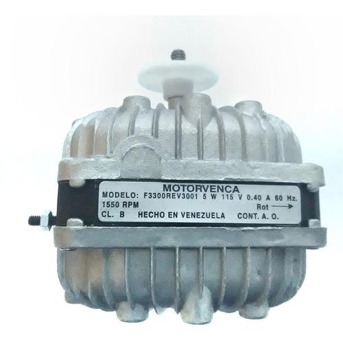 motor ventilador 5w 1 eje 115v 1550rpm cnr-3923