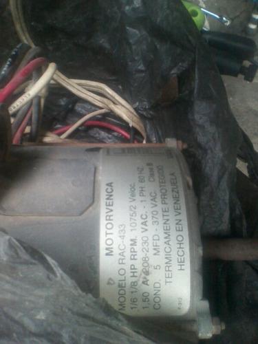 motor ventilador aire acondicionado motorvenca mod rac-433