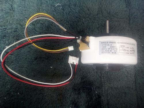motor ventilador consola split 16w-220v yys16-4