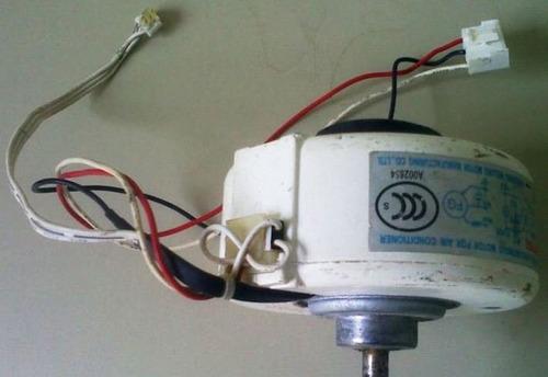 motor ventilador consola split 220v