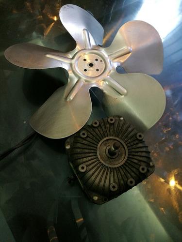 motor ventilador de enfriador con aspas de 8
