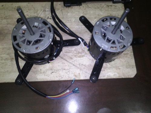 motor ventilador doble eje