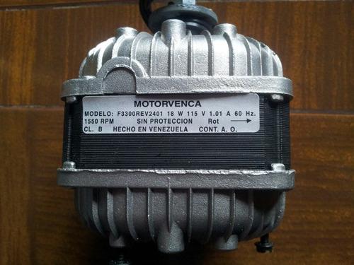 motor ventilador motorvenca 18w 115v original - nuevos