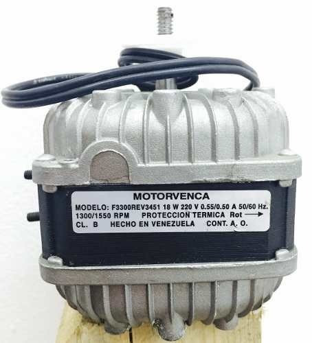 motor ventilador motorvenca 18w 220v original - nuevos