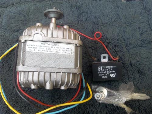 motor ventilador motorvenca 50w 220v 1625rpm con capacitor