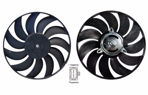 motor ventoinha radiador fiesta 1.0 zetec rocam c/ar  x048