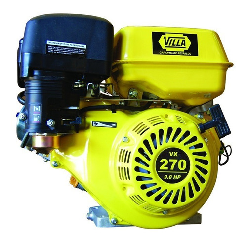 motor villa naft  ohv vx270 eje horiz 9 hp c/arr eléctrico